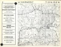 Harmony T13N-R6W, Vernon County 1960